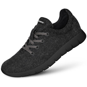 Giesswein Merino Wool Runners Heren, anthracite